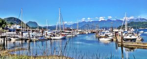 Scenic Gibsons Harbour and Marina